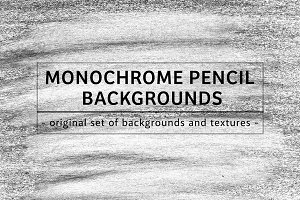 49 MONOCHROME PENCIL BACKGROUNDS