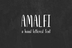 Amalfi. A Latin and Cyrillic Font