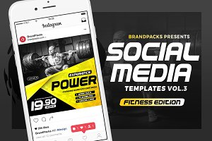 Social Media Templates Pack vol.3