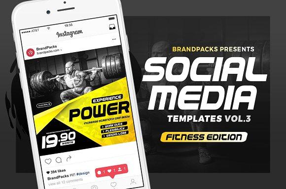 Social Media Templates Pack Vol.3