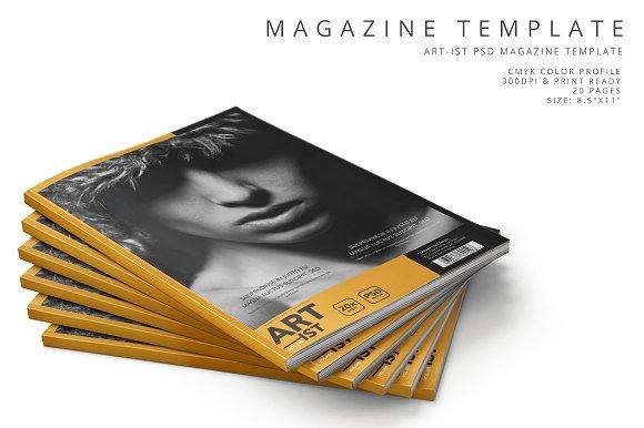 Art-ist Magazine Template Vol.9