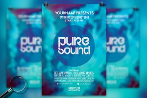 Pure Sound | Modern Flyer Template