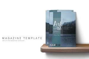 Art-ist Magazine Template Vol.14