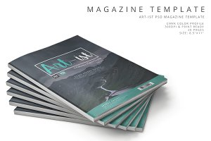 Art-ist Magazine Template Vol.15