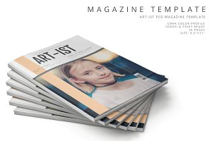 Art-ist Magazine Template Vol.17