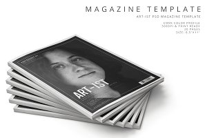 Art-ist Magazine Template Vol.19