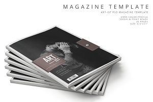 Art-ist Magazine Template Vol.20