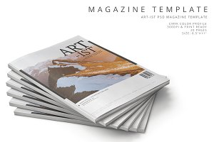 Art-ist Magazine Template Vol.22