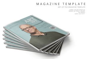 Art-ist Magazine Template Vol.23