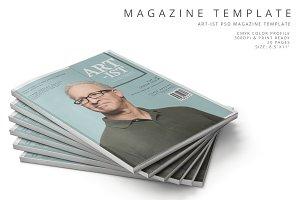 Art-ist Magazine Template Vol.23