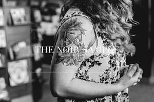 Noir Sample, Black & White Presets