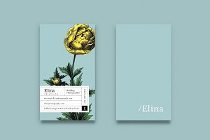 Elina business card