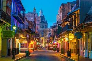 French Quarter, New Orleans USA