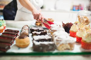 Cakes & Pastries at Cafe