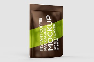 Coffee Packaging Mock-up