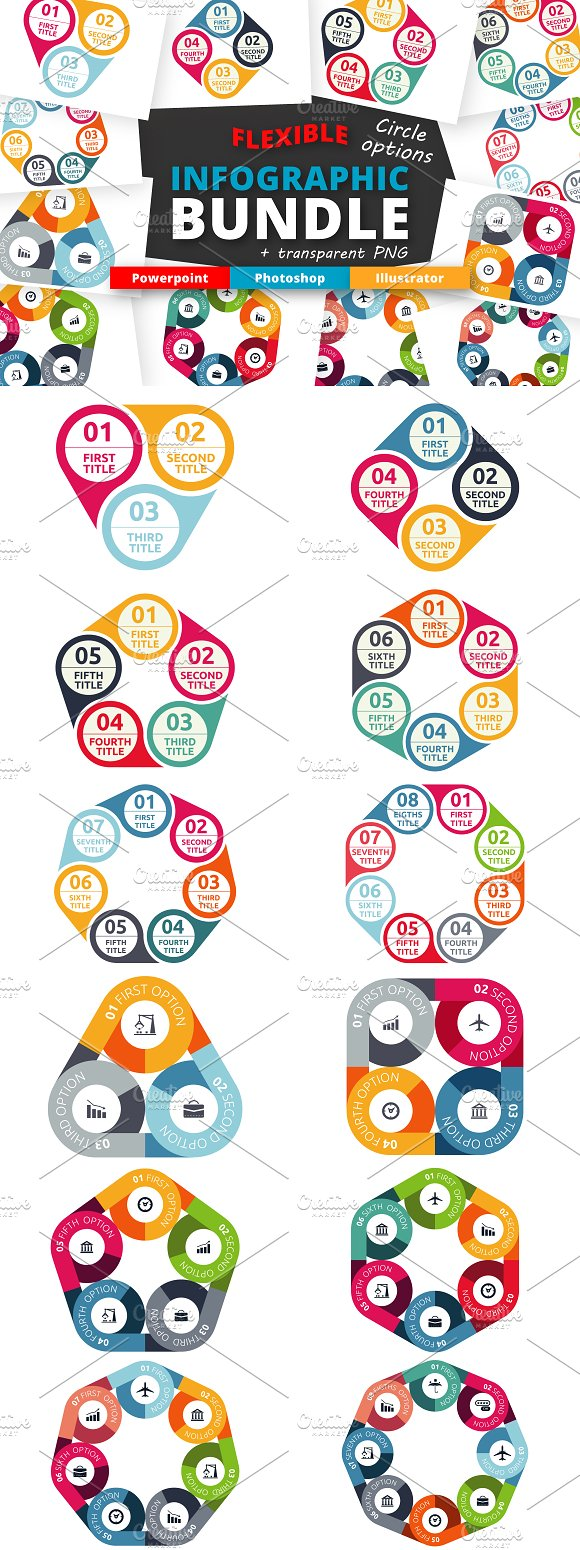 Flexible Infographic Options