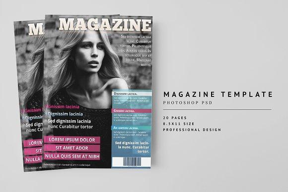 Magazine Template 12