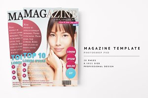 Magazine Template 13