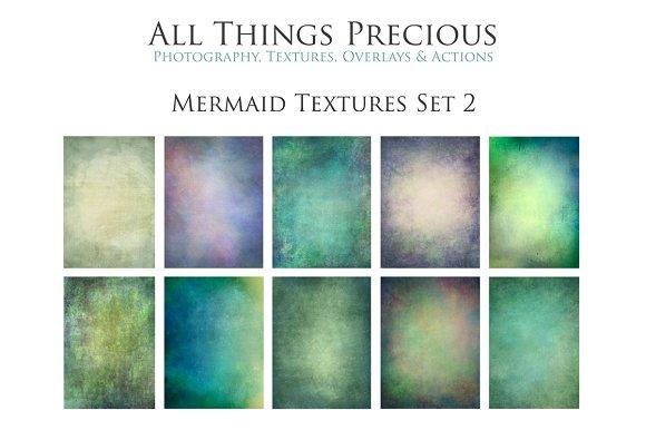 Fine Art Mermaid Textures SET 2