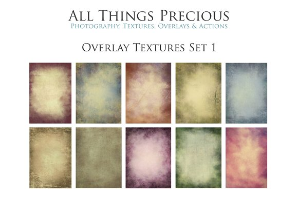 Fine Art Overlay Textures