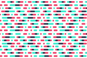 Colorful Linear Pattern Background