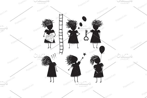 Girl Silhouette Character Traits
