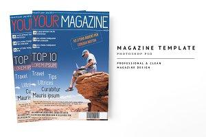 Magazine Template 15