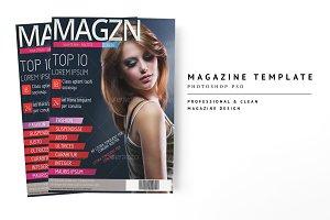 Magazine Template 16