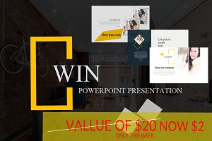 Win Powerpoint Presentation SALE OFF