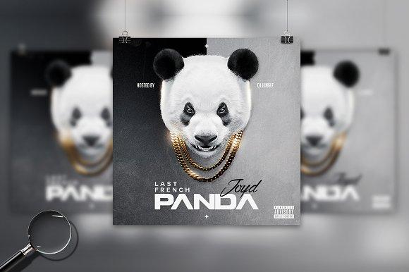 Panda Conceptual Cover Template