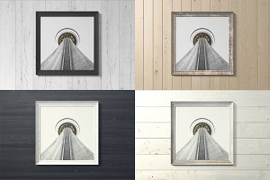 Frame Artwork Mockup Set 3