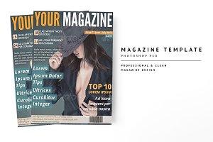 Magazine Template 17