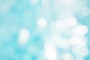 Abstract water blur light bokeh