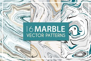 Vector marble patterns