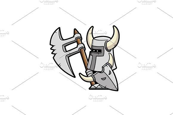 Mini Warrior - Vectorial Drawing