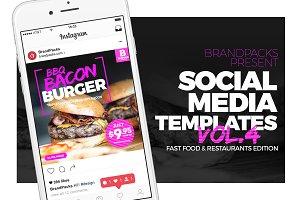 Social Media Templates Pack Vol.4