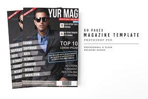 Magazine Template 18
