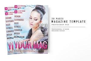 Magazine Template 19