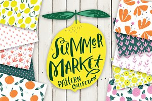 Summer Market Pattern Collection