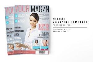 Magazine Template 20