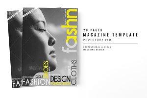 Magazine Template 21
