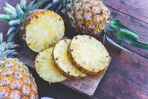pineapple fruit fiber diet