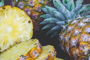 pineapple fruit fiber diet