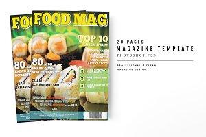 Magazine Template 22