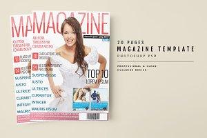 Magazine Template 23
