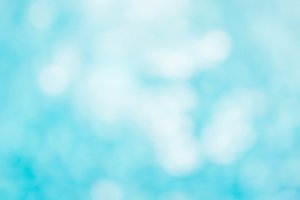 abstract blue water bokeh blur