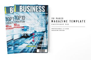 Magazine Template 24