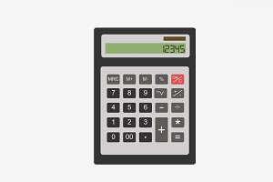 Calculator vector icon
