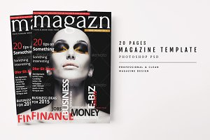 Magazine Template 25