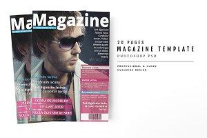 Magazine Template 26